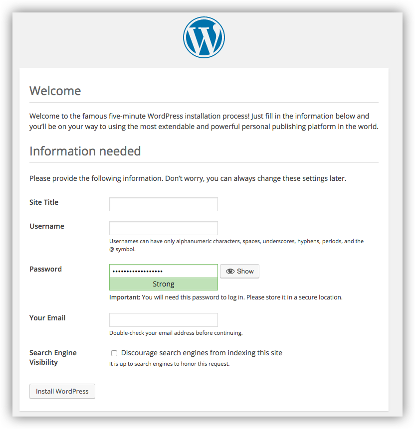 wordpress-welcome