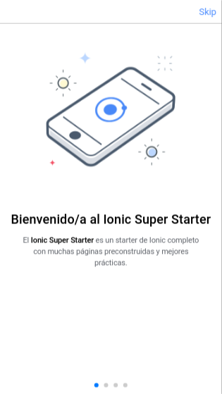 Ionic Template Super