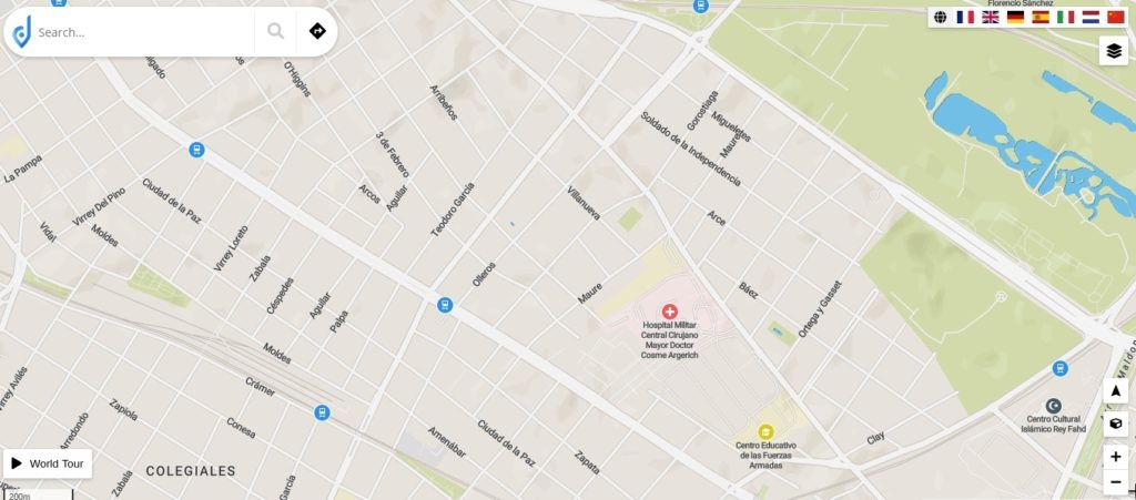 JawgMaps es otra de las alternativas a Google Maps